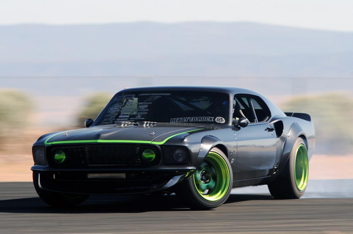 1 25 Rtr X Widebody 69 Mustang Transkit Revell C1