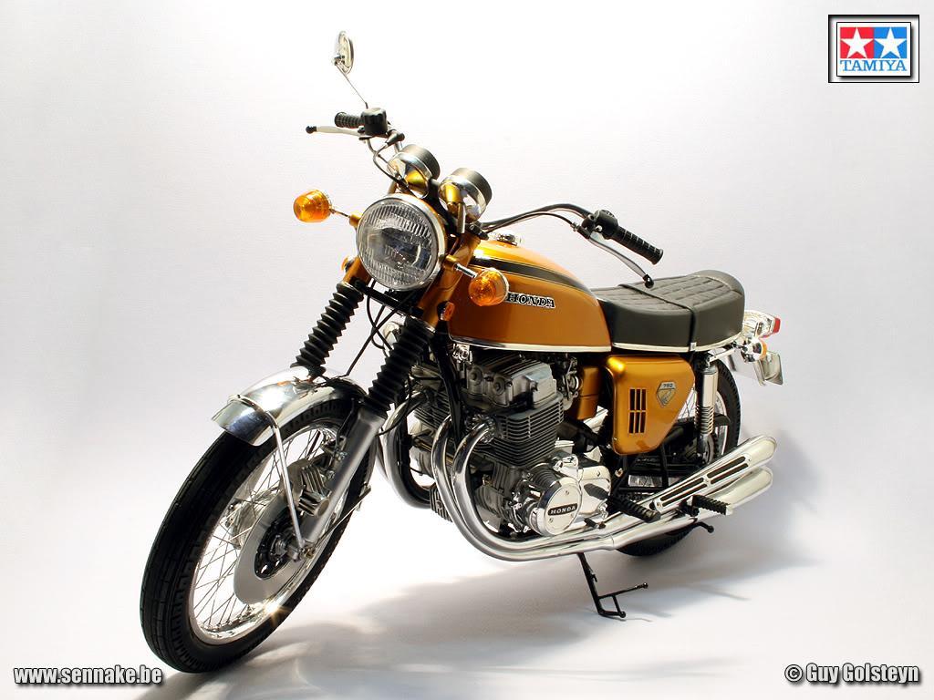 16 Honda Dream Cb750 Four 16001 Tam16001 Tamiya