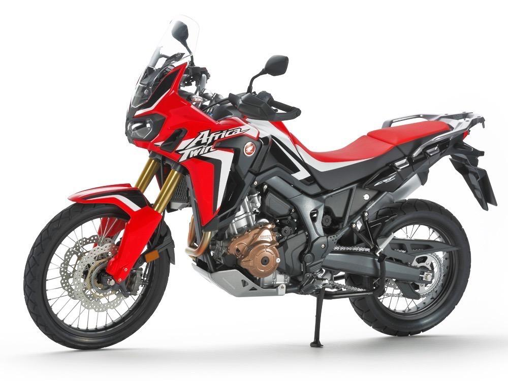 Africa twin motorcycle