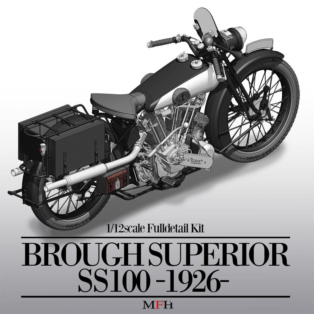 19 Brough Superior Ss100 1926 Version Full Detail Multi Media Kit Nissan Datsun 300zx Turbo Exhaust Diagram Category