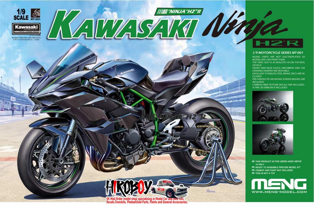1:9 Kawasaki Ninja H2R