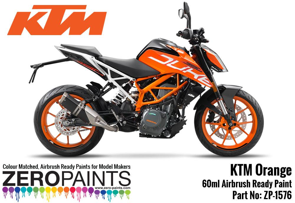 Ktm Orange Paint 30ml Zp 1576 Zero Paints