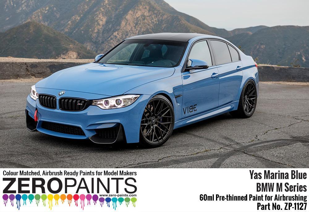 BMW Yas Marina Blue Paint 60ml