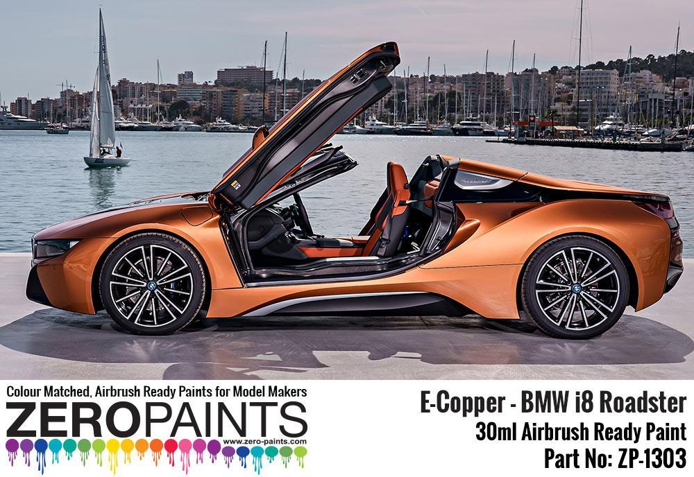 Bmw I8 Roadster E Copper Paint 30ml Zp 1303 Zero Paints