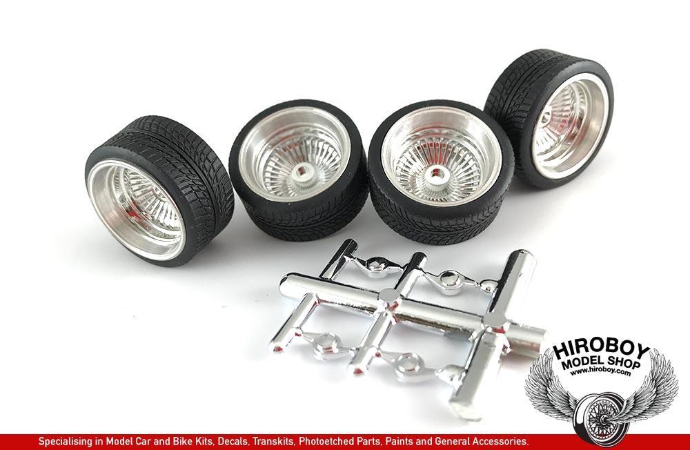 Chrome Wide D S Wheels And Tyres Pegasus Pgh1198 Pegasus Hobbies