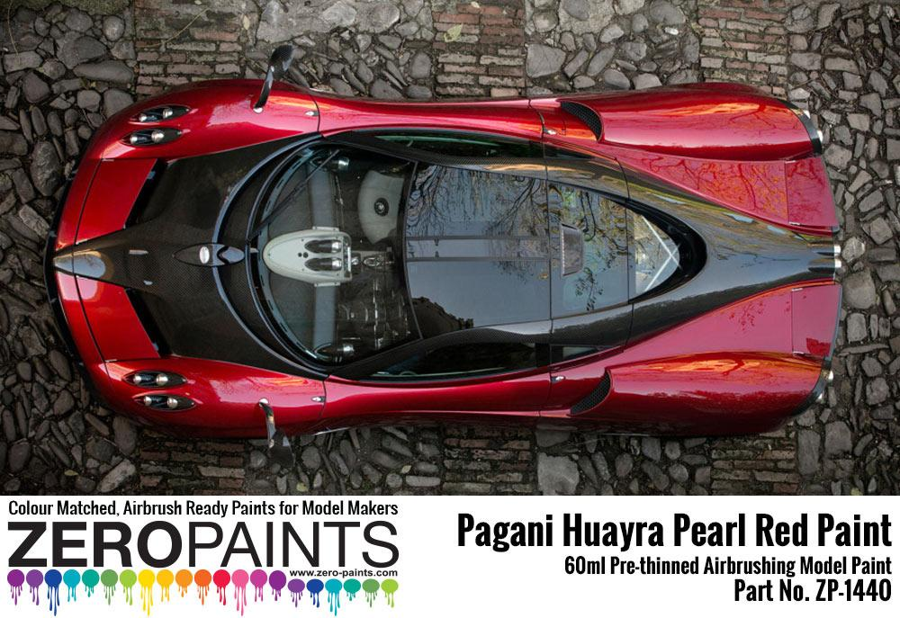 ... Pagani Huayra Pearl Red Paint 60ml ...