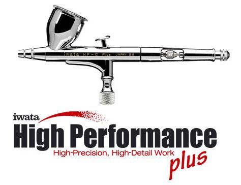 Iwata High Performance Airbrush Hp-C Plus