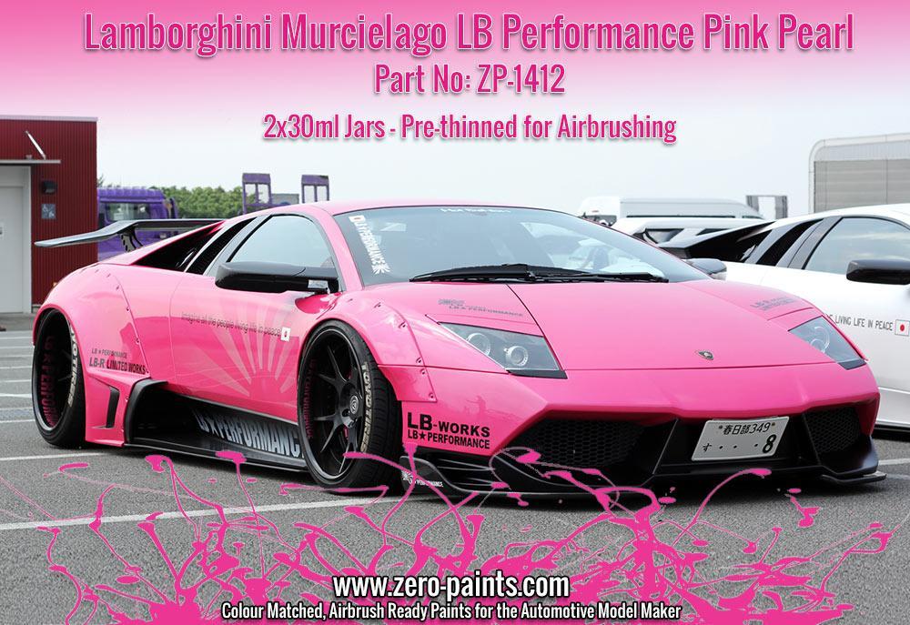 Lamborghini Murcielago Lb Performance Pink Pearl 2x30ml Zp 1412