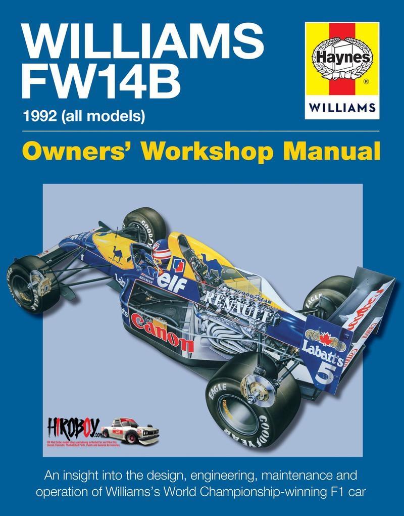Williams FW14B Owners' Workshop Manual