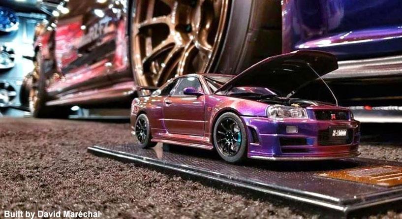 Midnight Purple 3 Lx0 Nissan Gt R R34 2x30ml Limited Edition