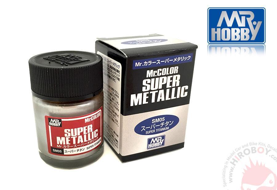 Mrlor Super Metallic Paints Super Titanium Sm05 Gsi Sm05
