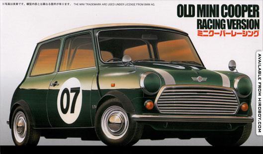 Old Mini Cooper Racing Version