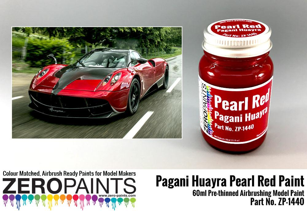 Pagani Huayra Pearl Red Paint 60ml