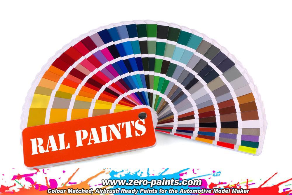Ral Paints European Standard Colour Range 60ml Zp 1033 Zero Paints