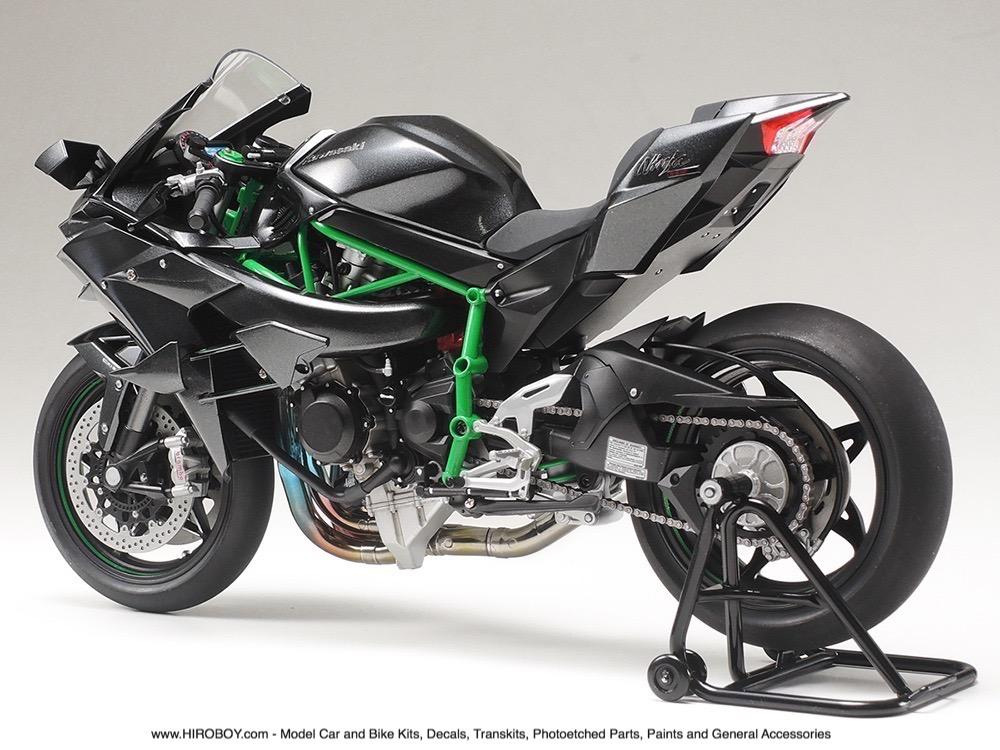 tamiya 1 12 kawasaki ninja h2r model kit 14131 tam14131 tamiya. Black Bedroom Furniture Sets. Home Design Ideas