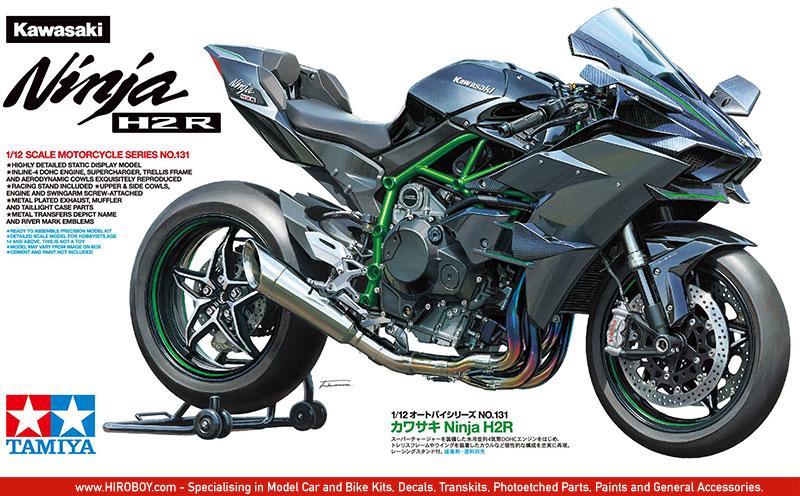 Tamiya 112 Kawasaki Ninja H2r Model Kit 14131 Tam14131 Tamiya