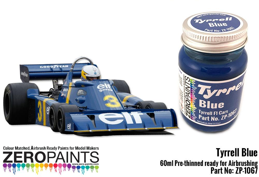 Tyrrell Blue Paint 60ml · Tyrrell Blue Paint 60ml ...