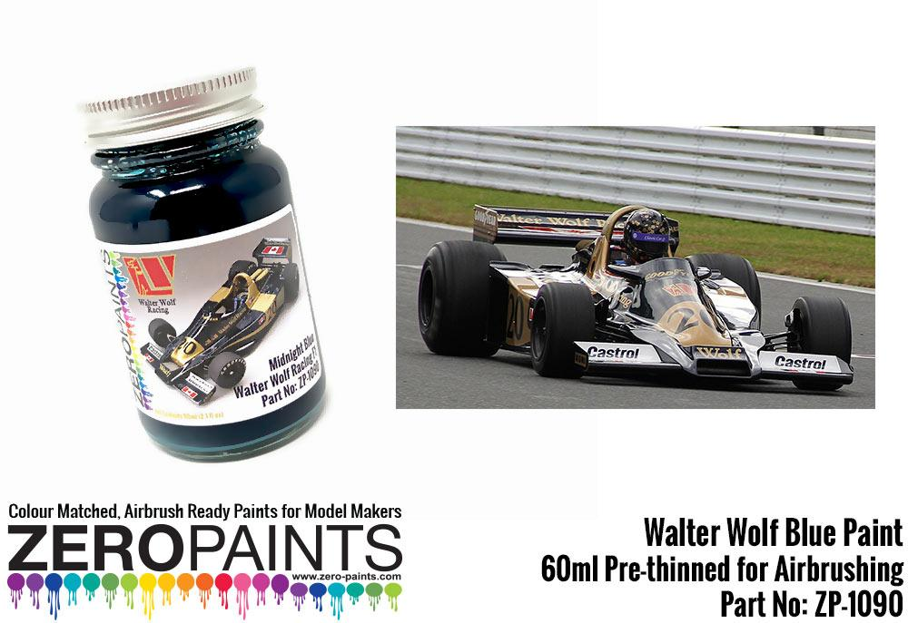 Walter Wolf Racing F1 Midnight Blue 60ml Zp 1090 Zero Paints
