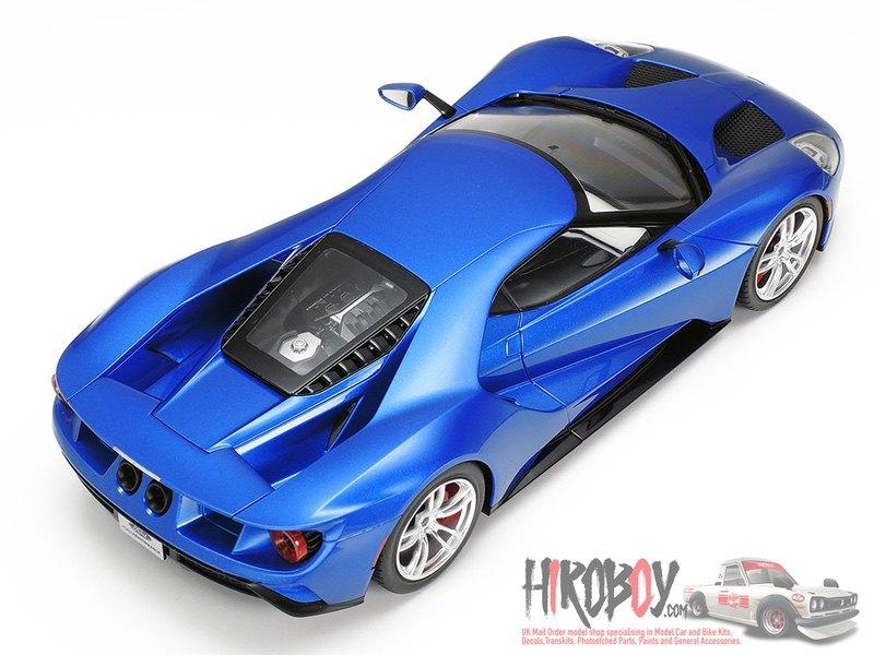 Tamiya 24346 1//24 Scale Model Super Sports Car Kit Ford GT Coupe