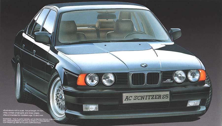 BMW E AC Schnitzer S FUJ Fujimi - Bmw ac schnitzer