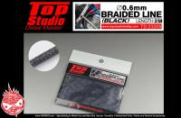 0.6mm Braided Line (Black)