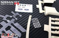 1:12 Nismo Exterior Detail Up Set for Fujimi Nissan Skyline R32 GT-R