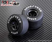 1:12 1980's F1 Tyre with Pre-Printed Goodyear Logo