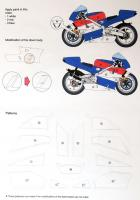 1:12 Alex Barros Honda NSR500 1995 Decals