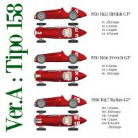 1:12 Alfa Romeo Tipo 158 Full Detail Multi-Media Kit