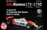 1:12 Alfa Romeo 179 - 179C Model Kit