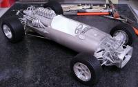 1:12 Eagle T1G 1967 Ver.A 1967 Dutch/Belgian GP Full detail Multi-Media Model Kit