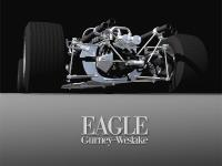 1:12 Eagle T1G 1967 Ver.B 1967 French/British/German/Italian GP Full detail Multi-Media Model Kit