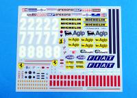 1:12 Ferrari 126CK Ver.B : 1981 Rd.12 Dutch GP - Full Detail Kit