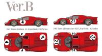 1:12 Ferrari 330 P4 (Berlinetta) Ver B Full Multi Media Kit