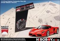 1:12 Ferrari  Enzo Exterior Composite Fiber Set (Pewter Metallic Version)