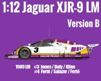 1:12 Jaguar XJR-9 1989 LM Ver B - Full Detail Multi Media Kit
