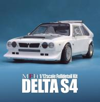 1:12 Lancia Delta S4 - Ver.B :1986 WRC Rd.1 Rally Monte Carlo - Full Detail Multi-Media Kit