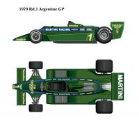 1:12 Lotus 79 1979 version ver.A  Argentina GP