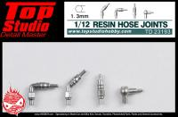 1:12 Resin Hose Joints (1.3mm)