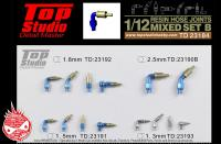 1:12 Resin Hose Joints (Mixed Set B)