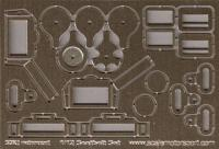 1:12 Scale Racing Harness Photoetched Set #8123