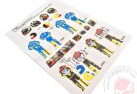 1:12 Valentino Rossi Figure Decal 2002-2005