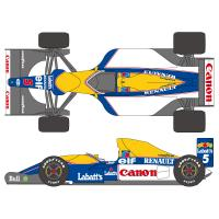 1:12 Williams FW14B Decals (Tamiya)