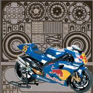 1:12 Yamaha YZR500 Tech 3 Photoetch Set #4220