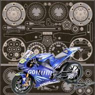 1:12 Yamaha YZR-M1 '04 Photoetch set #4230