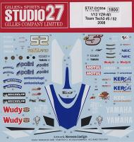 1:12 Yamaha YZR-M1 Team Tech 3 #52 - 2008 Decals