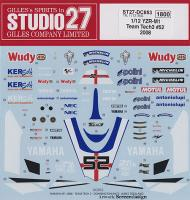 1:12 Yamaha YZR-M1 Team Tech 3 #52 - 2008 Donnington Special Decals