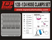 1:20/1:24 Hose Clamps / Jubilee Clip Set