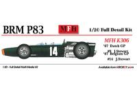 1:20 BRM P83 (H16) 1967Dutch GP  Full detail Multi-Media Model Kit