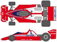 1:20 Brabham BT46 1978 South Africa Decals for Tamiya